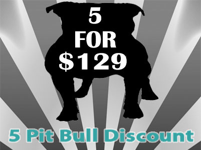 APBR 5 PitBull registration discount