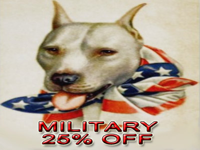 military discount PitBull registration